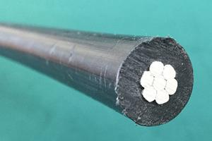 Covered Aluminum Cables - 25kV Voltage